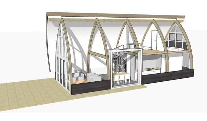 Lancet living een andere kijk op recreatief vastgoed dingemans architectuur horeca - Scheiding houten ...