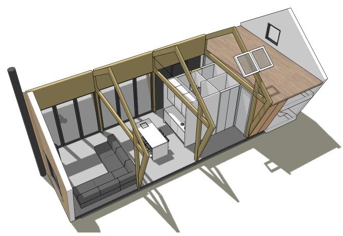 Penta prefab een compact en betaalbare vakantiewoning for Vakantiehuis bouwen