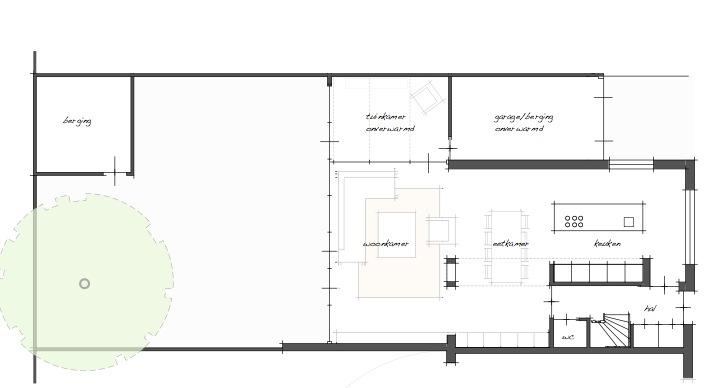 plattegrond van een woonkamer ~ lactate for ., Deco ideeën