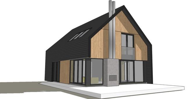 Herbouwhuis voor vrijstaande huizen uit de jaren 39 60 en 39 70 dingemans architectuur horeca - Huis architect hout ...