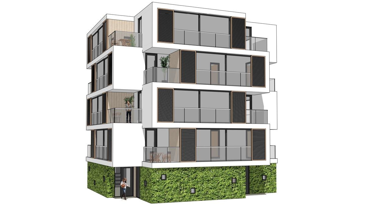 Prefab appartementengebouw compacte kleine appartementen for Prefab units
