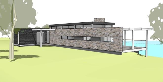 Moderne prefab woning in frankrijk seissan dingemans for Huis bouwen prefab