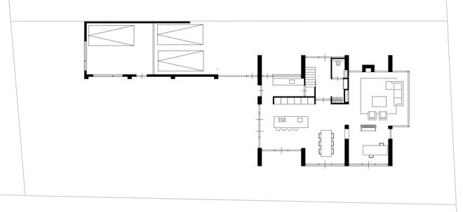 Indeling Keuken Horeca : landelijk gelegen woning te Berlicum Dingemans Architectuur horeca