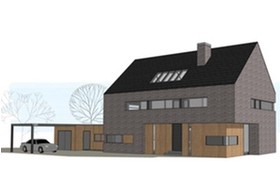 Woning archives dingemans architectuur horeca bedrijfsrestaurants den bosch brabant - Moderne huis gevel ...
