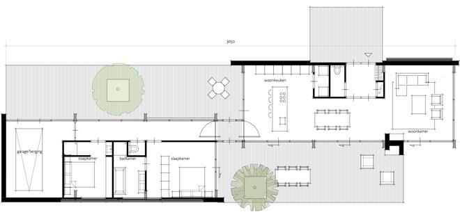 Levensloopbestendige bungalow voor senioren dingemans for Moderne vrijstaande woning