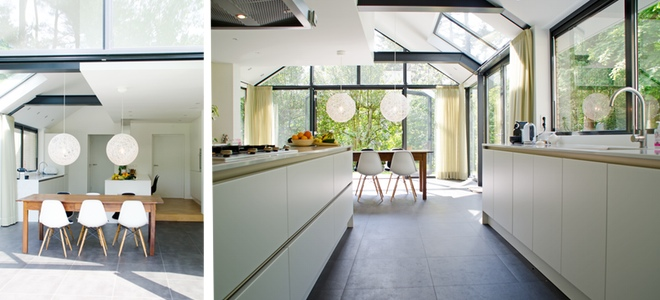 interieur verbouwing jaren \'70 villa te bilthoven | Dingemans ...