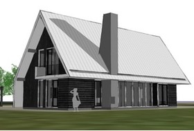 Prefab recreatiewoningen archives dingemans architectuur horeca bedrijfsrestaurants den - Huis architect hout ...