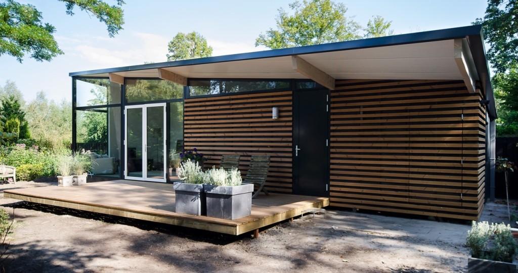 Prefab guesthouse te schoorl geplaatst dingemans architectuur horeca bedrijfsrestaurants - Veranda modern huis ...