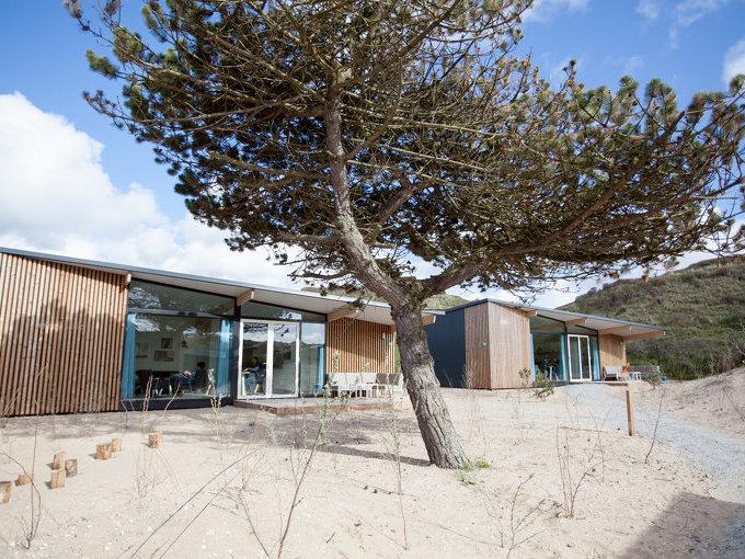 Luxe recreatiewoningen in de duinen